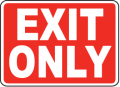 Exit Signs and Labels
