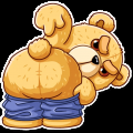 TED THE BEAR Stickers
