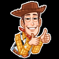 Toy Story Funny Cartoon Stickers