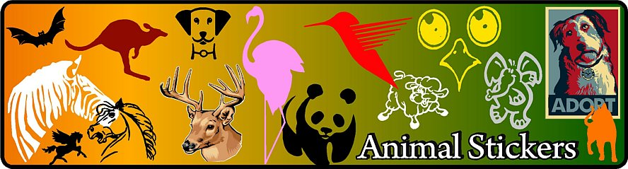 Animal Decals and Stickers